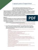 Guía de Apoyo Para El Supervisor Para El MOMENTO INICIAL de La FORMACIÓN BÁSICA