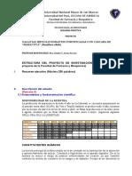PRACTICA 2 -  Formato 2 - Estructura del proyecto avance