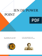 EXAMEN DE POWER POINT