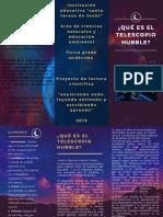 Blue Gold Sky Night Universe Science Stars Trifold Brochure.pdf
