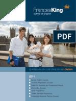 Catalogo Frances King School English Londres Intercambio