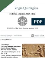 Generalidades Semiología Quirúrgica.
