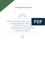 TRABAJO DE INVESTIGACION MEDICINA ORAL