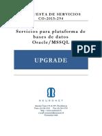 Oferta Tecnica Upgrade_Hoscar