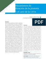 Mecanismos de desmovilización de la protesta social