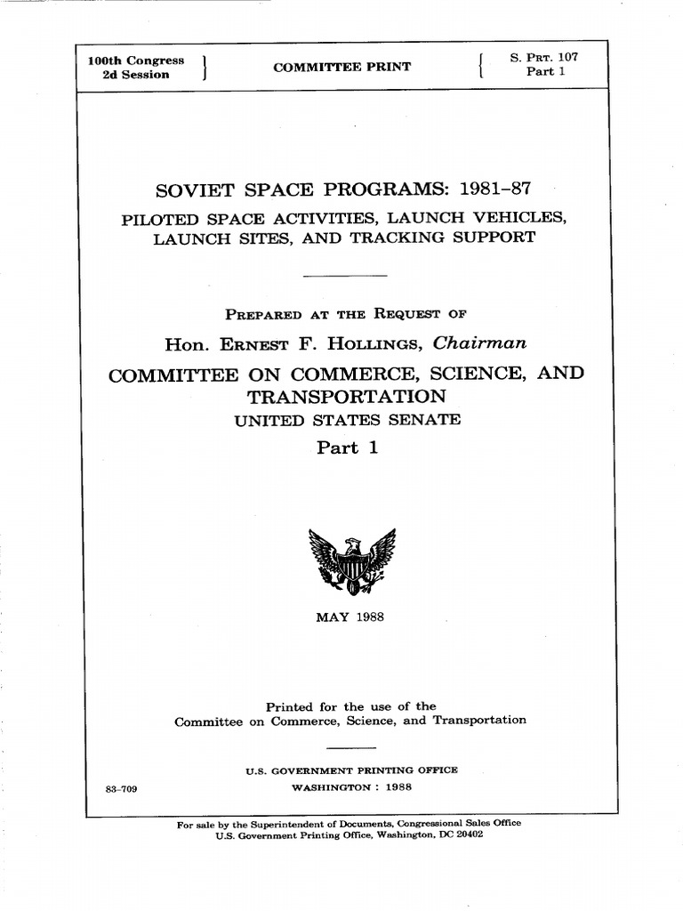 Soviet Space Program 1981 1987 Cmh Software Constructor For Electrical Ladder Diagrams Electronic