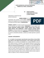 EXP. 5888-2011 - 27 MAYO 2019 - PRIMERA SALA PENAL LIQUIDADORA - PRESCRIPCIÓN DE OFICIO - USURPACIÓN COLLIQUE