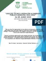Presentación Alumbrado Público Empocabal - José Rodrigo Toro Montes