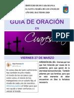Guia de Oración 27 de marzo