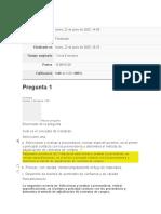 Respuestas examen U1 - Sistema Logístico ACA