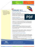 CodeLink 2011 Data Sheet