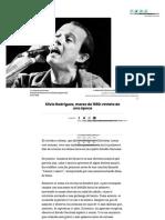 Silvio Rodríguez, marzo de 1990 (Culto, 2018)