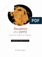 Bacantes after party