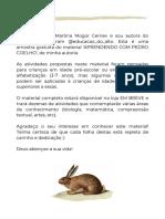 AMOSTRA - PEDRO COELHO