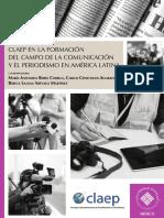 CLAEP en la formación del campo de la comunicación y el periodismo en América Latina.