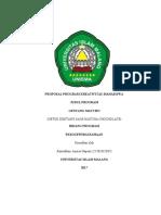 PROPOSAL PROGRAM KREATIVITAS MAHASISWA (Repaired)