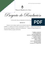 Proyecto de resolución Diversidad