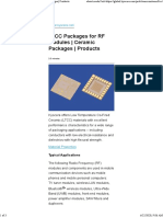 LTCC Packages for RF Modules - Kyocera