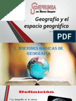 tema 1 Geografía y el espacio geográfico