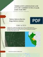 Caracterización limnológica de la laguna de Cashibococha