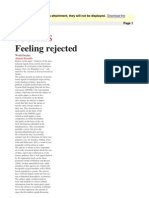 Alastair Reynolds - Feeling Rejected