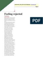 Alastair Reynolds - Feeling Rejected