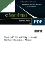 172.IBM - ThinkPad T61 and T61p Inch)