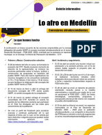 BOLETIN 1 CONSEJEROS AFROS MEDELLIN