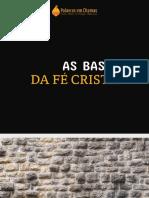 [A5] As bases da fé cristã - e-book Palavras em Chamas
