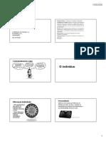 Comportamento Organizacional - Slide 01
