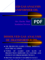 Dissolved Gas Analysis