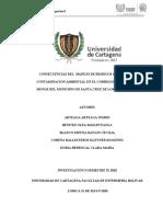 CONSECUENCIAS DEL MANEJO DE RESIDUOS SÓLIDOS Y CONTAMINACIÓN AMBIENTAL