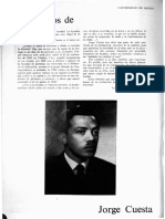 Crítica literaria Jorge Cuesta
