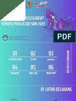 Kebijakan Self Asessment Peralatan SMK 2020