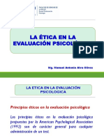 La Etica en la Evaluación Psicológica