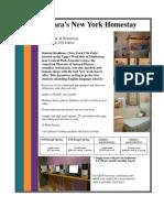 GEOS New York  Residence Profiles 2011