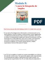 USO DE TICS EN LA BUSQUEDA EMPLEO
