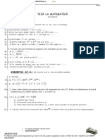 Lucrare scrisa final clasa 5(sem 1)