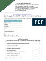 Ict Beliefs Attitudes Competencies - Compilation of Instruments
