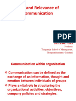 Role of communication PGDM -A &B 1.7.2019.pptx
