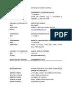 DEMANDA DIVORCIO COMUN ACUERDO CISTERNAS AVALOS