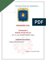 Manual de Uso Civil 3D
