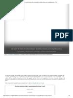Circuito de fonte de alimentação simétrica linear para amplificadores - TE1.pdf