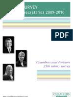 Co Sec Salary Survey- 2010