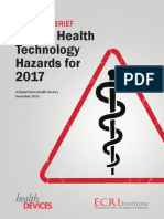 Top 10 Hazards ECRI