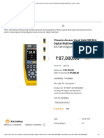 Chauvin Arnoux Hand Held 300 KHz Digital Multimeter