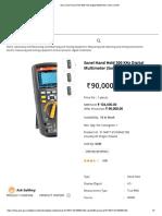 Sonel Hand Held 300 KHz Digital Multimeter