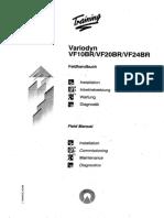 Variodyn VF10!20!24BR Training