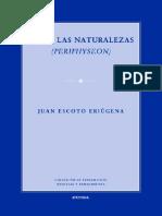 Juan Escoto Eriúgena. Sobre las naturalezas (Periphyseon)