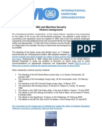 IMO and Maritime Security - Historic Background